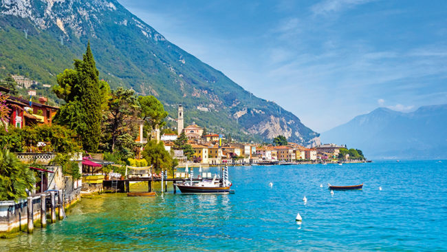 Gargnano am Gardasee, Italien