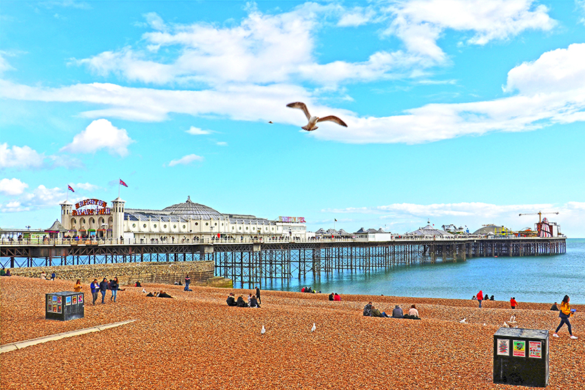 Brighton Pier  (© pearly-peach - Pixabay)