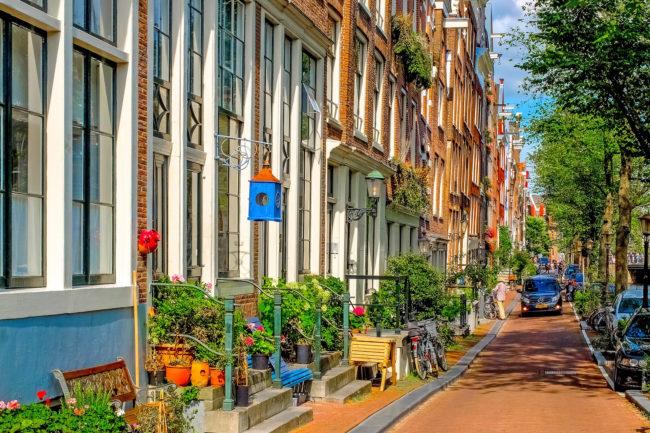 Amsterdam - Jordaan (© djedj - Piaxabay)