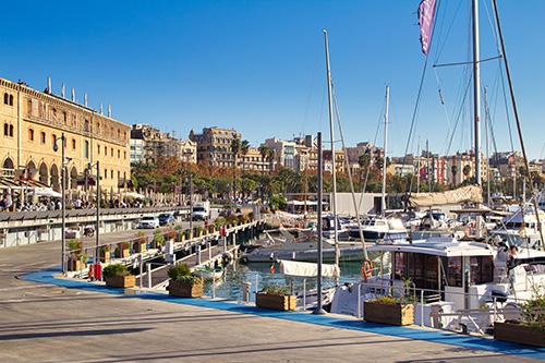 Barcelona - Hafen (© Julian Hacker - Pixabay)