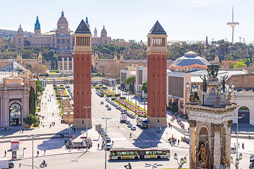 Barcelona - Plaza de Espanya (© Dominick Vietor - Pixabay)