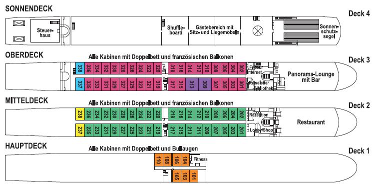 Decksplan TC WT Sapphire - Zum Vergrößern bitte anklicken!