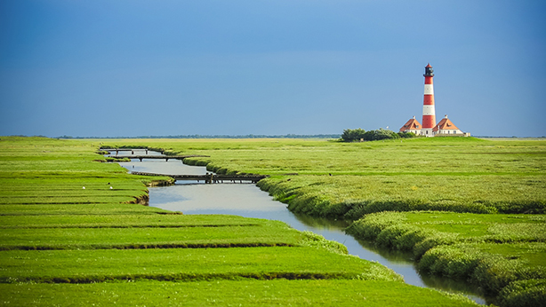 Westerhever Leuchtturm (© phybawi - Pixabay)